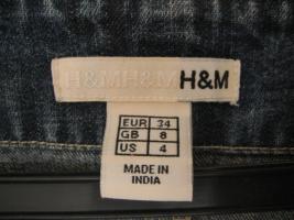 Foto 2 schöne Jeans-Tunika von H&M Gr. 34