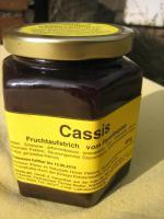 Foto 4 schwarze Johannisbeer Fruchtaufstrich 230g mit 75% Fruchtanteil
