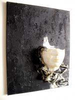 Foto 4 sehr schönes Wandbild Skulptur Einzelstück Handmade