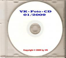 selbstgemachte Foto-CD