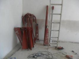 stahlspindel treppe  zum selbstaufbau