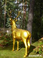 Foto 2 stell Dir vor dein Nachbar hat diesen Deko Hirsch in seinen Garten ...