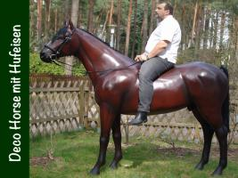 stell dir doch einfach in den garten ein deko Pferd  ...