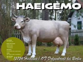 Foto 3 stell dir vor dieses modell deko kuh lebensgroß steh in deinen garten …?
