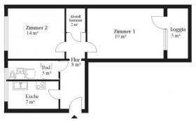 suche Nachmieter für schöne helle 2 Raum Wohnung am Plaza ...