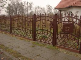 Foto 3 treppen aus Polen.Zaune aus POlen.Fa. STOLWIT