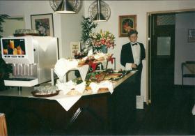 Butler im Hotel in Köln