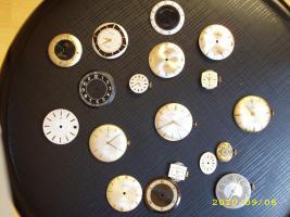 verschiedene Uhrwerke die noch laufen HAU + DAU