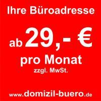 virtuelles Büro in Leipzig ab 29 €/Monat*