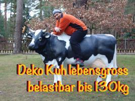 Foto 5 warum kaufen sie sich nicht eine deko kuh die ne tragkraft bis zu 130 kg hat ...