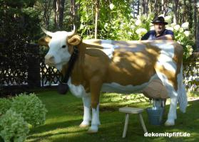 was du hast noch keine simmentaler deko melk kuh lebensgross …?