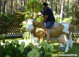 Foto 3 was du hast noch keine simmentaler deko melk kuh lebensgross …?