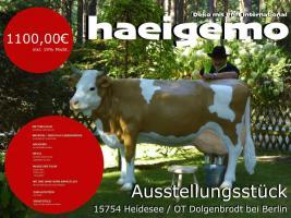 was zahlst du in der österreich für so ein deko kuh lebensgroß - Modell was auch noch eine melkkuh ist …?
