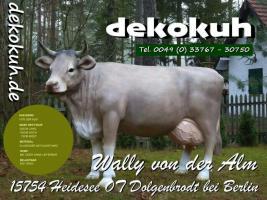 Foto 2 weist was kauf dir nal ne deko kuh lebensgroß