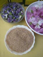 Foto 4 wilde Malvenblüten Tee, Rohkostqualität gesammelt im Naturpark