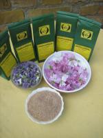 Foto 5 wilde Malvenblüten Tee, Rohkostqualität gesammelt im Naturpark