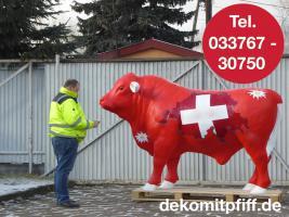 #winterthur - Schweizer Deko Bulle lebensgross ...