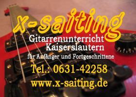 x-saiting Gitarrenunterricht Kaiserslautern