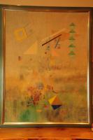 yves galgon gemälde (1987) Aufstieg in Lichte Weiten