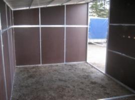 Foto 2 zerlegbare mobile Weidehütten erweiterbares Baukastensystem