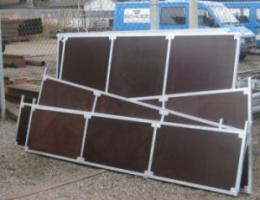 Foto 3 zerlegbare mobile Weidehütten erweiterbares Baukastensystem